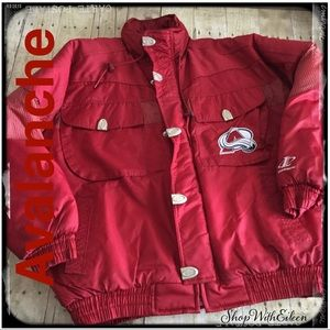 Logo Athletic NHL Avalanche Puffer Coat NWOT